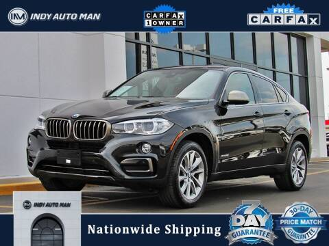 2018 BMW X6 for sale at INDY AUTO MAN in Indianapolis IN