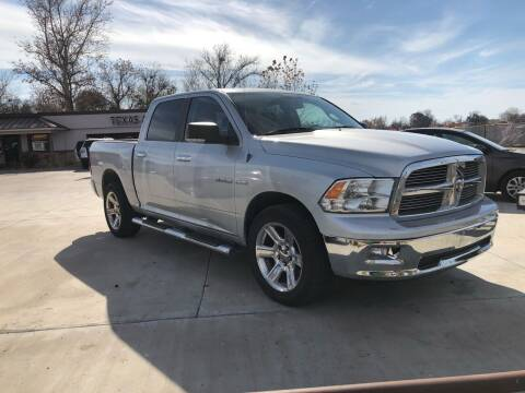 2010 Dodge Ram Pickup 1500 for sale at Texas Auto Broker in Killeen TX