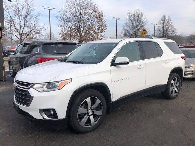 2018 Chevrolet Traverse for sale at BATTENKILL MOTORS in Greenwich NY