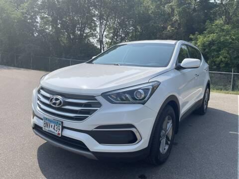 2018 Hyundai Santa Fe Sport for sale at Ace Auto in Jordan MN