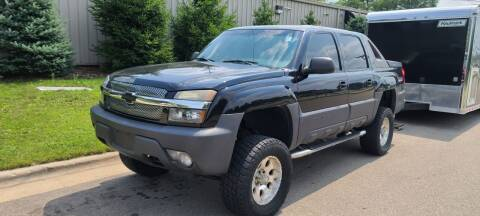 2003 Chevrolet Avalanche for sale at Steve's Auto Sales in Madison WI
