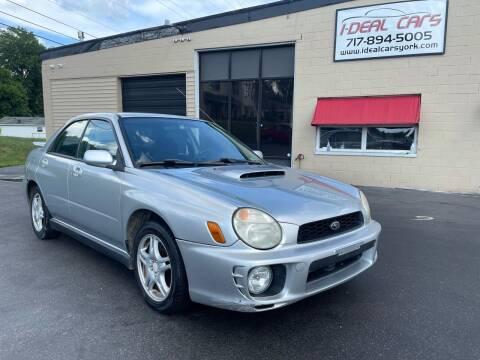 2003 Subaru Impreza for sale at I-Deal Cars LLC in York PA