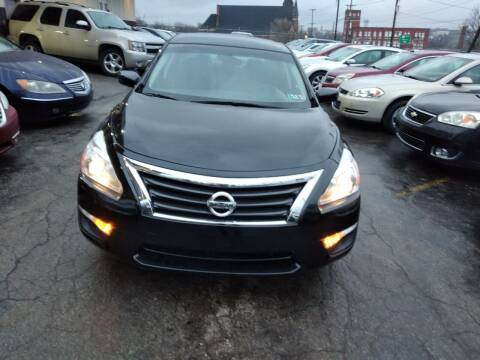 2014 Nissan Altima for sale at Six Brothers Auto Sales in Youngstown OH