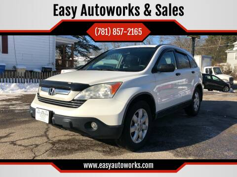 2009 Honda CR-V for sale at Easy Autoworks & Sales in Whitman MA