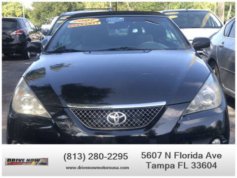 2007 Toyota Camry Solara for sale at Drive Now Motors USA in Tampa FL