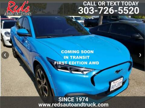 2021 Ford Mustang Mach-E for sale at Red's Auto and Truck in Longmont CO