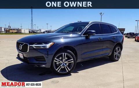 2021 Volvo XC60 for sale at Meador Dodge Chrysler Jeep RAM in Fort Worth TX