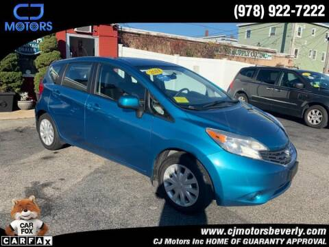2014 Nissan Versa Note for sale at CJ Motors Inc. in Beverly MA