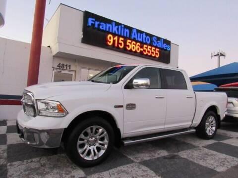 2015 RAM Ram Pickup 1500 for sale at Franklin Auto Sales in El Paso TX