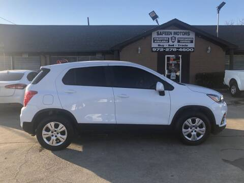 2018 Chevrolet Trax for sale at Safeen Motors in Garland TX