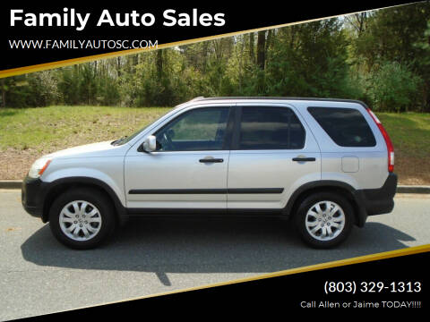 2006 Honda CR-V for sale at Family Auto Sales in Rock Hill SC