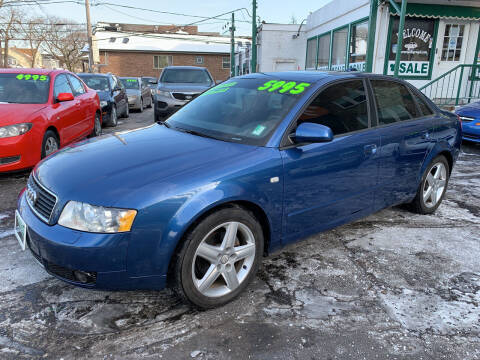 2004 Audi A4 for sale at Barnes Auto Group in Chicago IL