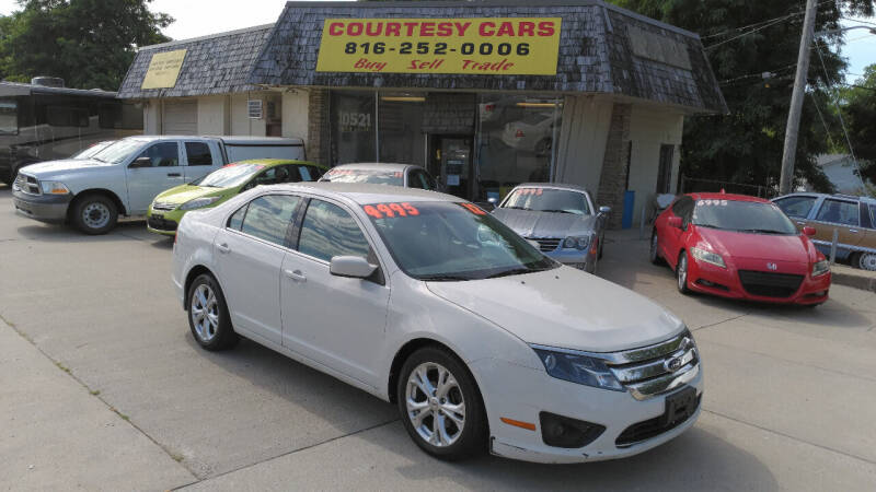 2012 Ford Fusion for sale at Courtesy Cars in Independence MO