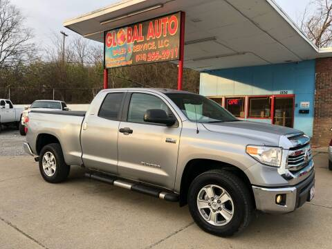 2016 Toyota Tundra for sale at Global Auto Sales and Service in Nashville TN