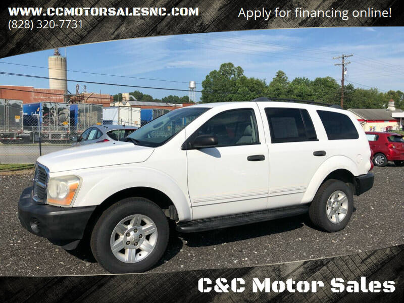 2004 Dodge Durango for sale at C&C Motor Sales LLC in Hudson NC