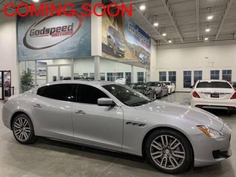 2015 Maserati Quattroporte for sale at Godspeed Motors in Charlotte NC