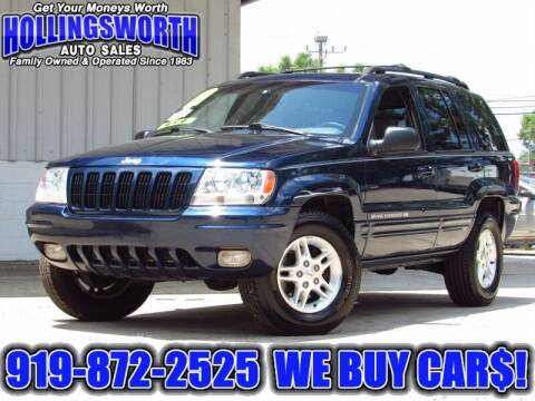 1999 Jeep Grand Cherokee for sale at Hollingsworth Auto Sales in Raleigh NC