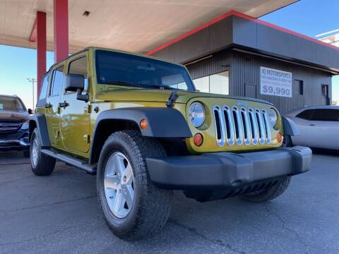 2008 Jeep Wrangler Unlimited for sale at JQ Motorsports East in Tucson AZ