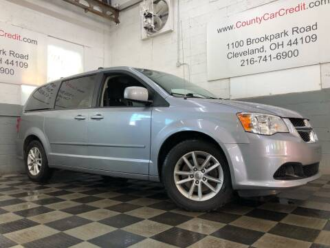 2014 Dodge Grand Caravan for sale at County Car Credit in Cleveland OH