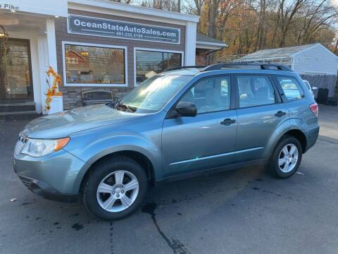 2011 Subaru Forester for sale at Ocean State Auto Sales in Johnston RI