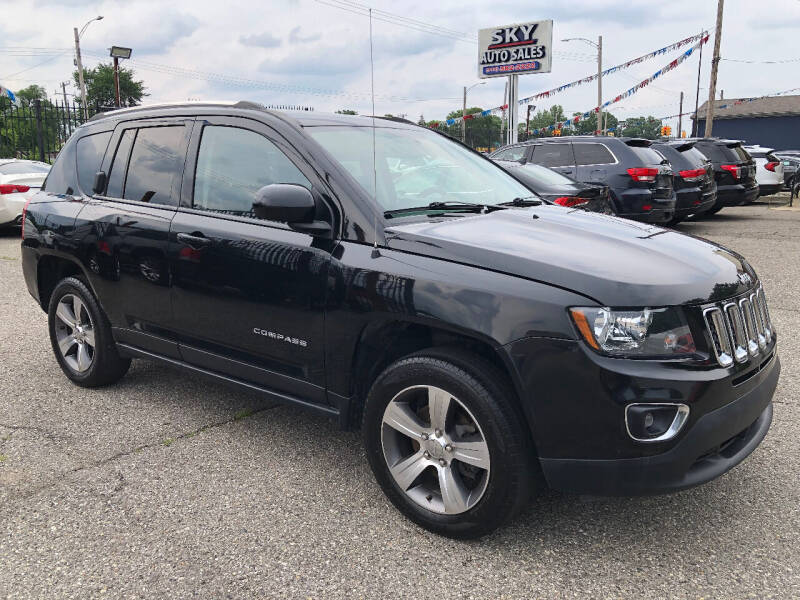 2017 Jeep Compass for sale at SKY AUTO SALES in Detroit MI