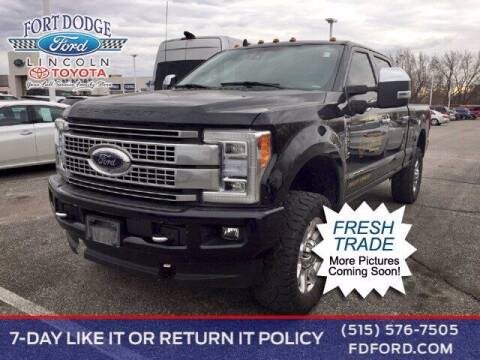 2019 Ford F-350 Super Duty for sale at Fort Dodge Ford Lincoln Toyota in Fort Dodge IA