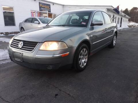 2002 Volkswagen Passat for sale at Plaistow Auto Group in Plaistow NH