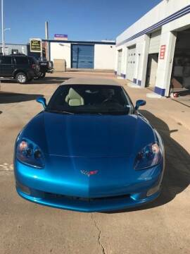 2008 Chevrolet Corvette for sale at LDT MOTORS in Amarillo TX