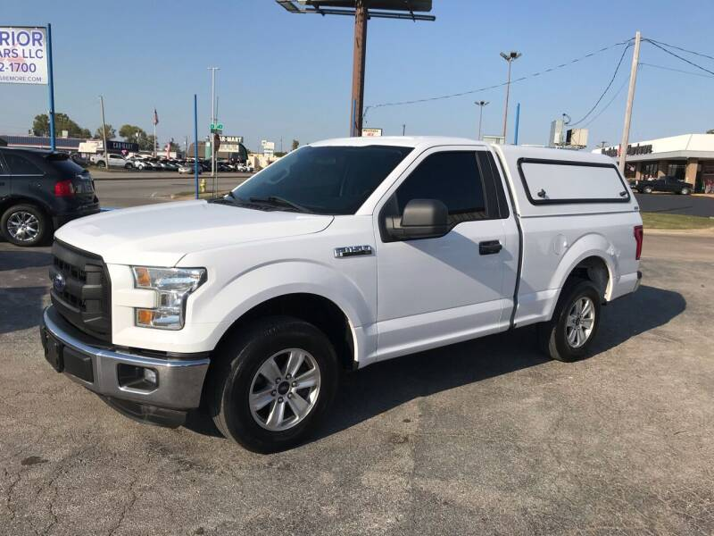 2015 Ford F-150 for sale at Superior Used Cars LLC in Claremore OK