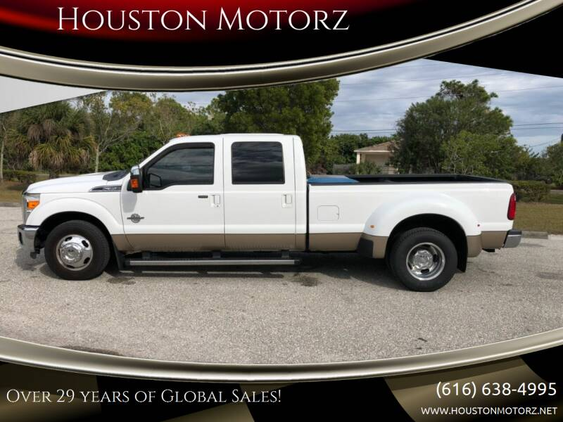 2013 Ford F-350 Super Duty for sale at Houston Motorz in Nunica MI