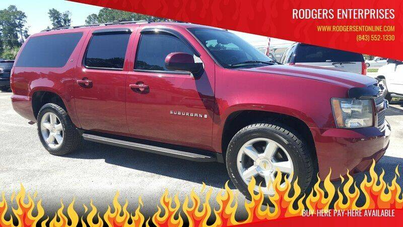 2007 Chevrolet Suburban for sale at Rodgers Enterprises in North Charleston SC