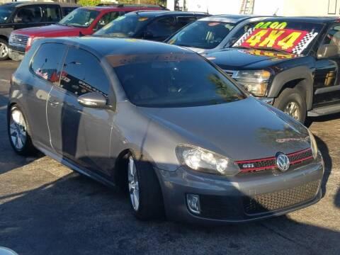 2012 Volkswagen GTI for sale at Import Haven in Davie FL