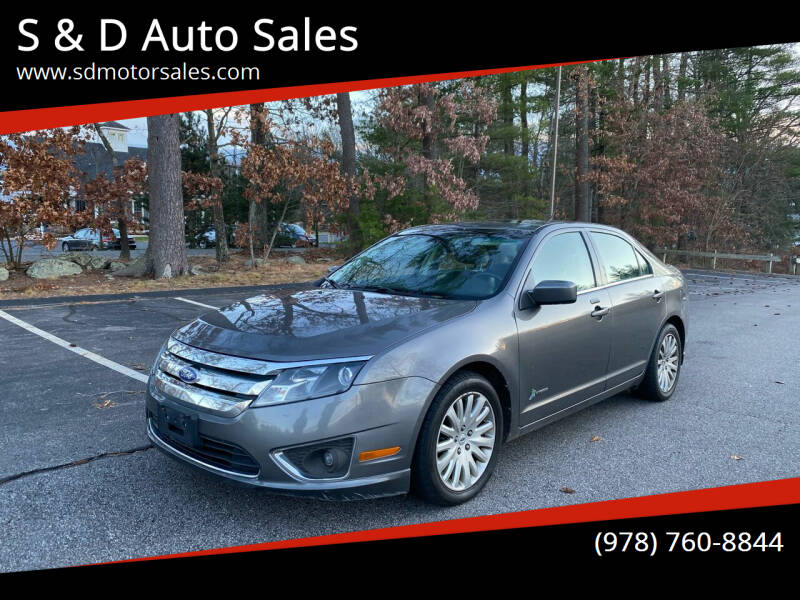 2011 Ford Fusion Hybrid for sale at S & D Auto Sales in Maynard MA