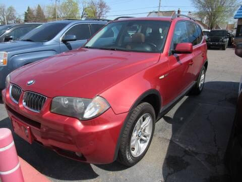 2006 BMW X3 for sale at PLATINUM AUTO SALES in Dearborn MI