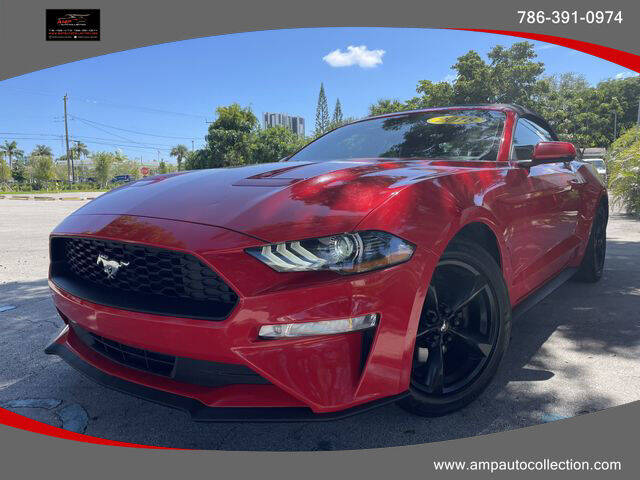 2018 Ford Mustang for sale at Amp Auto Collection in Fort Lauderdale FL