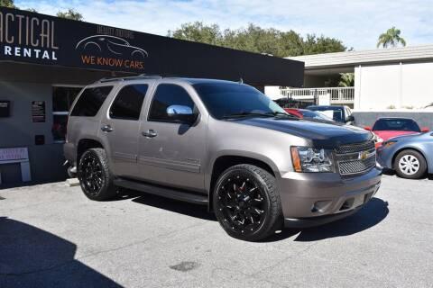2014 Chevrolet Tahoe for sale at DeWitt Motor Sales in Sarasota FL