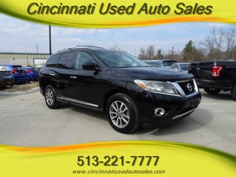 2013 Nissan Pathfinder for sale at Cincinnati Used Auto Sales in Cincinnati OH
