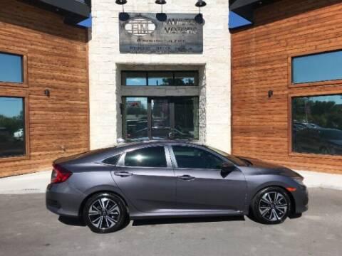 2016 Honda Civic for sale at Hamilton Motors in Lehi UT