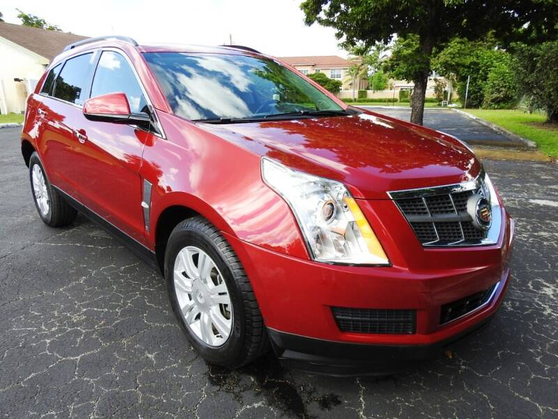 2012 Cadillac SRX for sale at SUPER DEAL MOTORS 441 in Hollywood FL