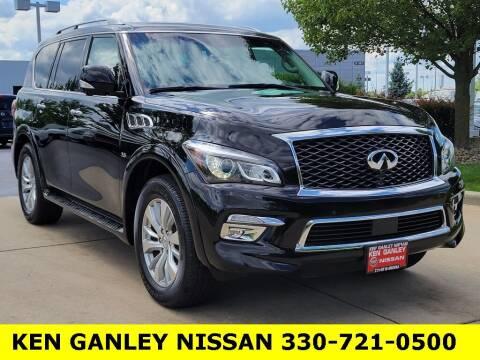 2017 Infiniti QX80 for sale at Ken Ganley Nissan in Medina OH