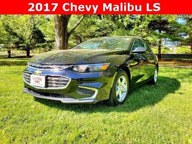 2017 Chevrolet Malibu for sale at Clark Chevrolet in Cayuga IN