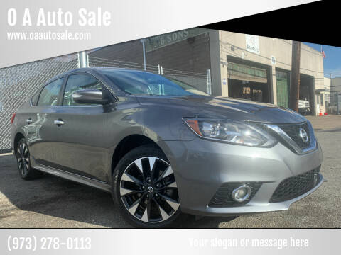 2019 Nissan Sentra for sale at O A Auto Sale in Paterson NJ