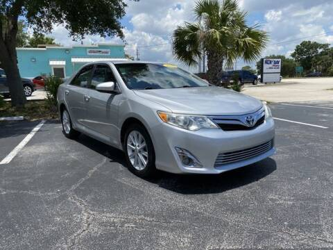 2012 Toyota Camry for sale at Palm Bay Motors in Palm Bay FL