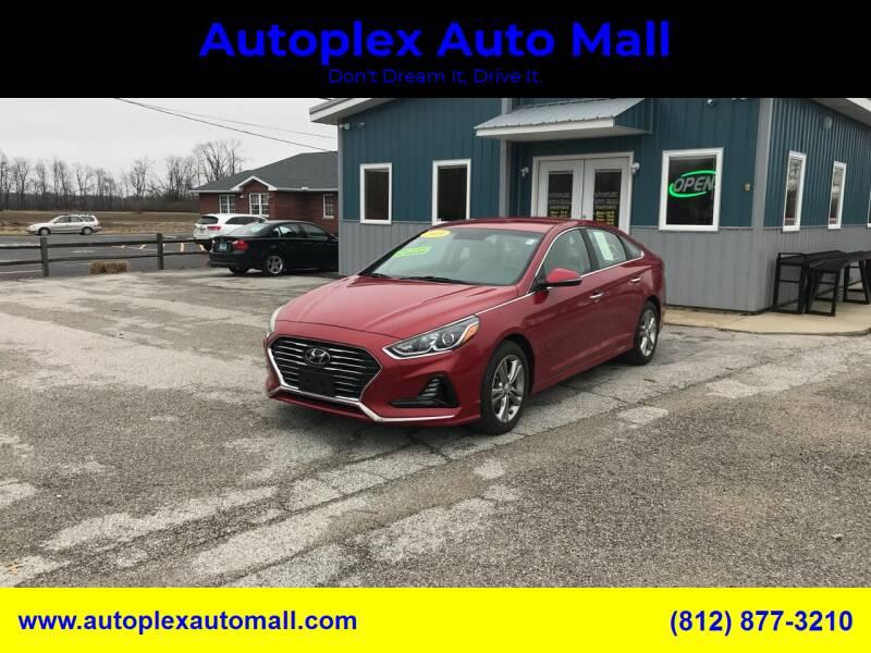 2018 Hyundai Sonata for sale at Autoplex Auto Mall in Terre Haute IN