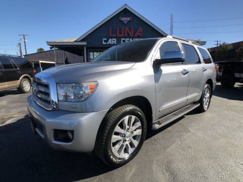 2012 Toyota Sequoia for sale at LUNA CAR CENTER in San Antonio TX