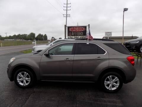 2011 Chevrolet Equinox for sale at MYLENBUSCH AUTO SOURCE in O` Fallon MO
