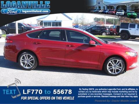2017 Ford Fusion for sale at Loganville Ford in Loganville GA