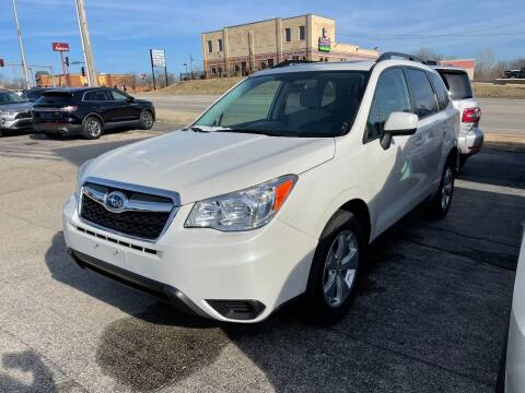 2015 Subaru Forester for sale at Greg's Auto Sales in Poplar Bluff MO