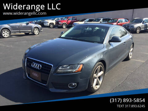 2008 Audi A5 for sale at Widerange LLC in Greenwood IN