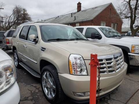 2012 Cadillac Escalade for sale at J & J Used Cars inc in Wayne MI